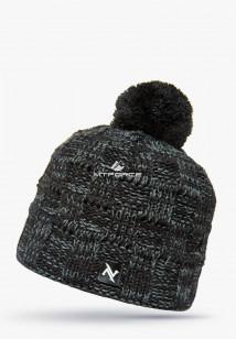 Купить оптом шапки зимние мужская темно-серого цвета 5546TС в интернет магазине MTFORCE.RU