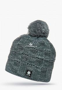 Купить оптом шапки зимние мужская темно-зеленого цвета 5546TZ в интернет магазине MTFORCE.RU