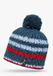 Купить оптом шапки зимние голубого цвета 5547Gl в интернет магазине MTFORCE.RU