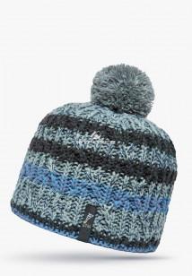 Купить оптом шапки зимние серого цвета 5547Sr в интернет магазине MTFORCE.RU