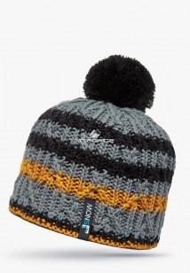 Купить оптом шапки зимние оранжевого цвета 5547-1O в интернет магазине MTFORCE.RU