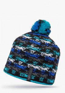 Купить оптом шапки зимние голубого цвета 5549Gl в интернет магазине MTFORCE.RU