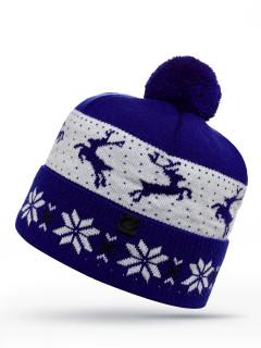 Купить оптом шапка темно-синего цвета в интернет магазине MTFORCE 6015TS