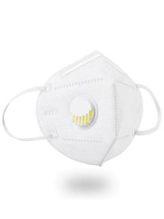Купить оптом маску защитную многоразовую с клапаном 95-KN за 1 95-1KNBl