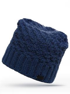 Купить оптом шапку темно-синего цвета в интернет магазине MTFORCE 6020TS