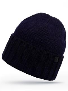 Купить оптом шапку темно-синего цвета в интернет магазине MTFORCE 6021TS