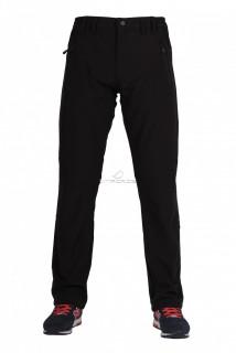 Купить оптом брюки виндстопер мужские черного цвета  6616Ch в интернет магазине MTFORCE.RU
