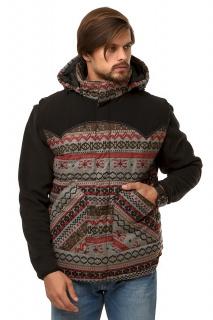 Купить оптом жилетка мужская утепленная бордового цвета 666Bo в интернет магазине MTFORCE.RU