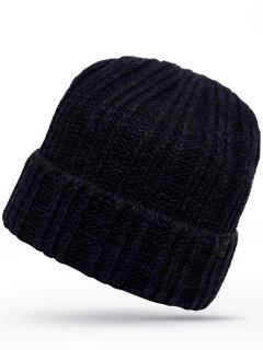 Купить оптом шапку темно-синего цвета в интернет магазине MTFORCE 6022TS