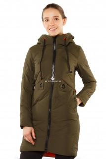 Интернет магазин MTFORCE.ru предлагает купить оптом куртку женскую зимнюю молодежную цвета хаки 7167Kh по выгодной и доступной цене с доставкой по всей России и СНГ