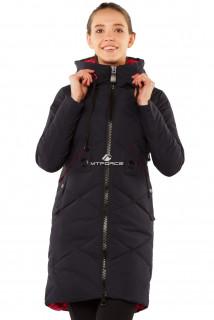 Интернет магазин MTFORCE.ru предлагает купить оптом куртку женскую зимнюю молодежную темно-синего цвета 7167TS по выгодной и доступной цене с доставкой по всей России и СНГ