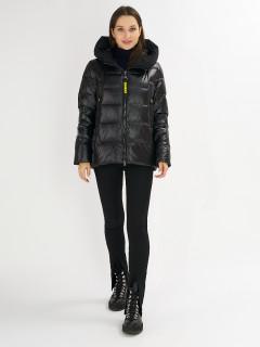 Купить оптом женскую зимнюю молодежную куртку в интернет магазине MTFORCE 72117Ch