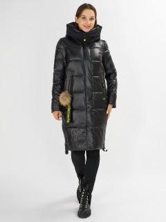 Купить оптом женскую зимнюю молодежную куртку в интернет магазине MTFORCE 72168Ch