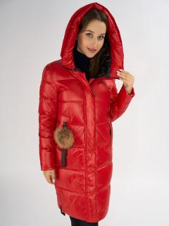 Купить оптом женскую зимнюю молодежную куртку в интернет магазине MTFORCE 72168Kr
