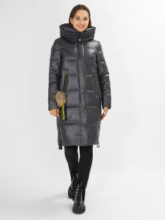 Купить оптом женскую зимнюю молодежную куртку в интернет магазине MTFORCE 72168TC