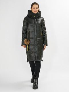 Купить оптом женскую зимнюю молодежную куртку в интернет магазине MTFORCE 72168TZ