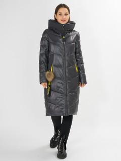 Купить оптом женскую зимнюю молодежную куртку в интернет магазине MTFORCE 72169TC