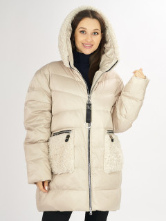 Купить оптом женскую зимнюю классическую куртку в интернет магазине MTFORCE 72180B