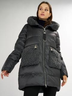 Купить оптом женскую зимнюю классическую куртку в интернет магазине MTFORCE 72180Bt