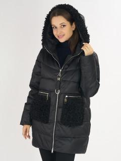 Купить оптом женскую зимнюю классическую куртку в интернет магазине MTFORCE 72180Ch