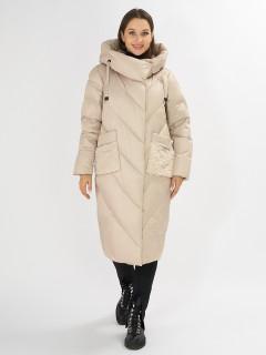 Купить оптом женскую зимнюю классическую куртку в интернет магазине MTFORCE 72185B