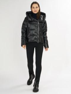 Купить оптом женскую зимнюю молодежную куртку в интернет магазине MTFORCE 7223Ch