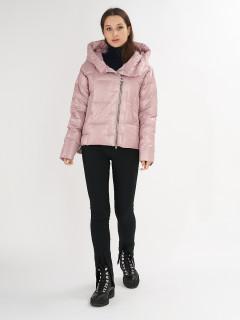 Купить оптом женскую зимнюю молодежную куртку в интернет магазине MTFORCE 7223R