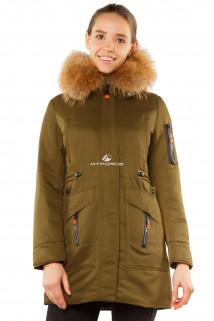 Купить оптом куртку женскую зимнюю молодежную темно-синего цвета 7216TS в интернет магазине MTFORCE.RU