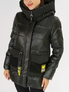 Купить оптом женскую зимнюю молодежную куртку в интернет магазине MTFORCE 7389Bt