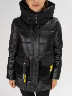 Купить оптом женскую зимнюю молодежную куртку в интернет магазине MTFORCE 7389Ch