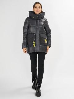 Купить оптом женскую зимнюю молодежную куртку в интернет магазине MTFORCE 7389TC