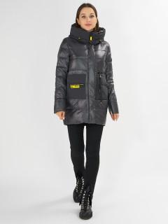 Фабрика производитель MTFORCE предлагает купить оптом женскую зимнюю молодежную куртку по выгодной и доступной цене с доставкой в городе *город*, а так же по всей России и СНГ. Артикул 7501TC
