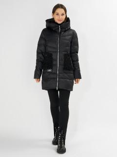 Купить оптом женскую зимнюю молодежную куртку в интернет магазине MTFORCE 7519Ch
