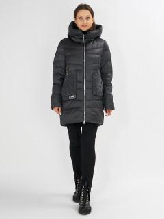 Купить оптом женскую зимнюю молодежную куртку в интернет магазине MTFORCE 7519TC