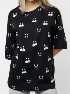 Купить футболки с принтом оптом от производителя в Москве 76032Ch