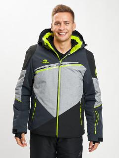 Купить оптом мужскую зимнюю горнолыжную куртку от производителя дешево в Москве 77016TC
