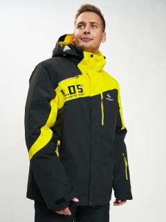 Купить оптом мужскую зимнюю горнолыжную куртку большого размера от производителя дешево в Москве 77029J