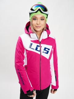 Купить оптом женскую зимнюю горнолыжную куртку от производителя дешево в Москве 77030R