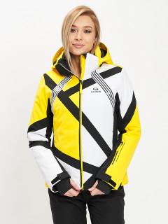 Купить оптом женскую зимнюю горнолыжную куртку от производителя дешево в Москве 77031J
