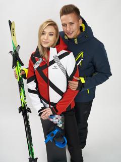 Купить оптом женскую зимнюю горнолыжную куртку от производителя дешево в Москве 77031Kr