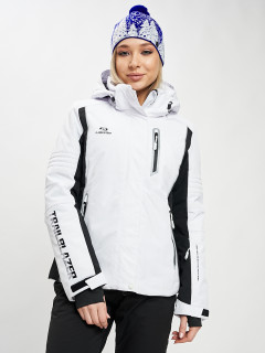 Купить оптом женскую зимнюю горнолыжную куртку от производителя дешево в Москве 77034Bl