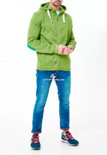 Толстовку зеленого цвета купить оптом в интернет магазине MTFORCE 7723Z