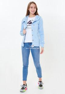 Толстовку голубого цвета купить оптом в интернет магазине MTFORCE 7725Gl