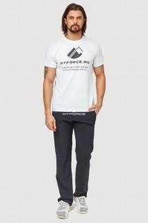 Купить оптом брюки спортивные мужские темно-синего цвета 7809TS в интернет магазине MTFORCE.RU