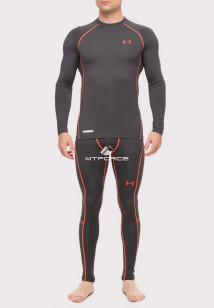 Купить оптом термобелье мужское темно-серого цвета 8011TC в интернет магазине MTFORCE.RU