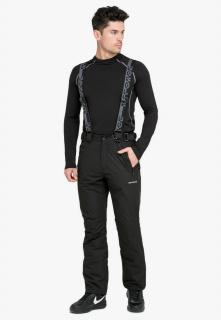 Купить оптом брюки горнолыжные мужские черного цвета 804Ch в интернет магазине MTFORCE.RU