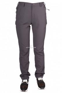 Купить оптом брюки женские тонкие летние темно-серого цвета 812TC в интернет магазине MTFORCE.RU