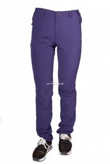 Купить оптом брюки женские тонкие летние фиолетового цвета 812F в интернет магазине MTFORCE.RU