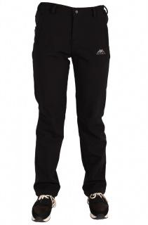 Купить оптом брюки виндстопер женские черного цвета 814Ch в интернет магазине MTFORCE.RU
