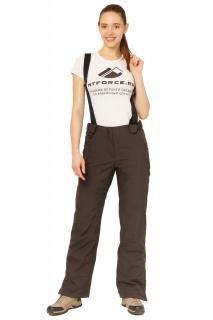 Купить оптом брюки горнолыжные женские цвета хаки 818Kh в интернет магазине MTFORCE.RU